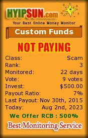 ссылка на мониторинг http://www.hyipsun.com/?a=details&lid=26