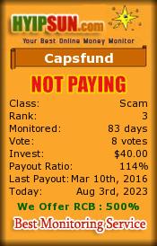 ссылка на мониторинг http://www.hyipsun.com/?a=details&lid=30